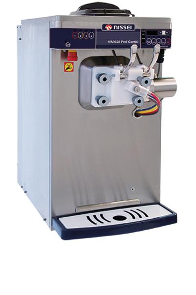 Nissei softeis und shakemaschine NA 9328 proof combi