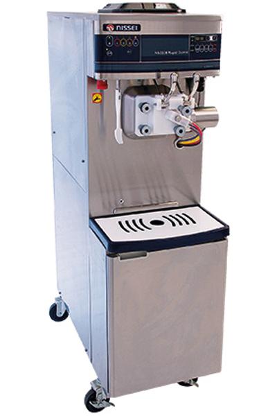 Softeis und shakemaschine NA 3338 rapid combi